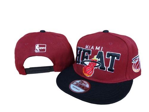 the best attitude d8103 676ae NBA Miami Heats Stitched New Era 9FIFTY Snapback Hats 199