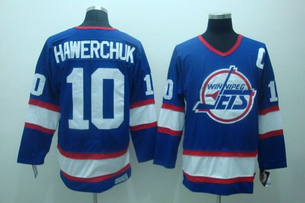 bb64add7 ... Jets 10 Dale Hawerchuk Stitched Blue CCM Throwback NHL Jersey Authentic  CCM Mens ...